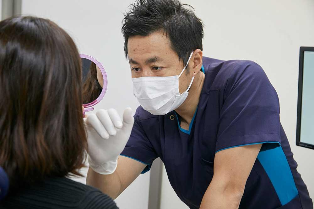 歯科技工士の同席